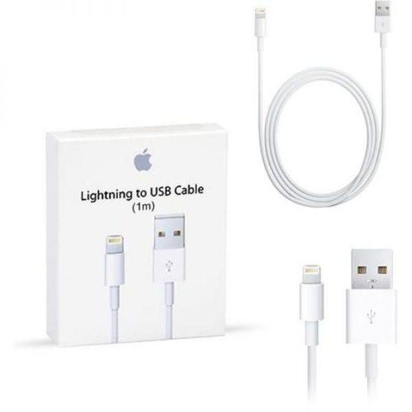 کابل لایتنینگ به USB اپل 1 متری Apple Lightning to USB Cable MD818ZM/A