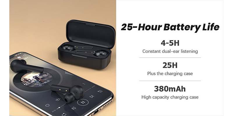 هندزفری بلوتوث کیو سی وای QCY T5 TWS Bluetooth Earphone