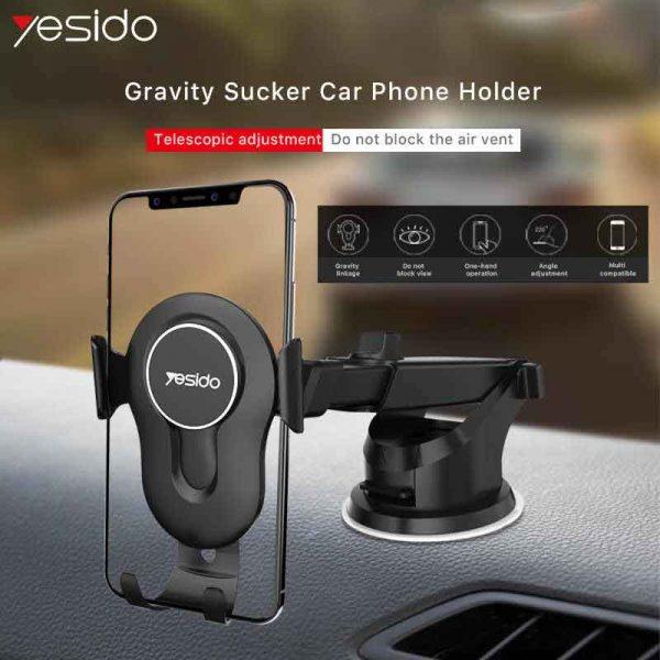 پایه نگهدارنده موبایل هولدر ماشین یسیدو Yesido C44 Car Holder
