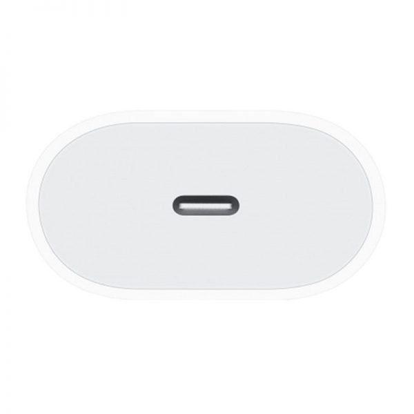 آداپتور شارژر اپل ۱۸ وات برای سری آیفون 11 Apple MU7V2ZM/A 18W Type C