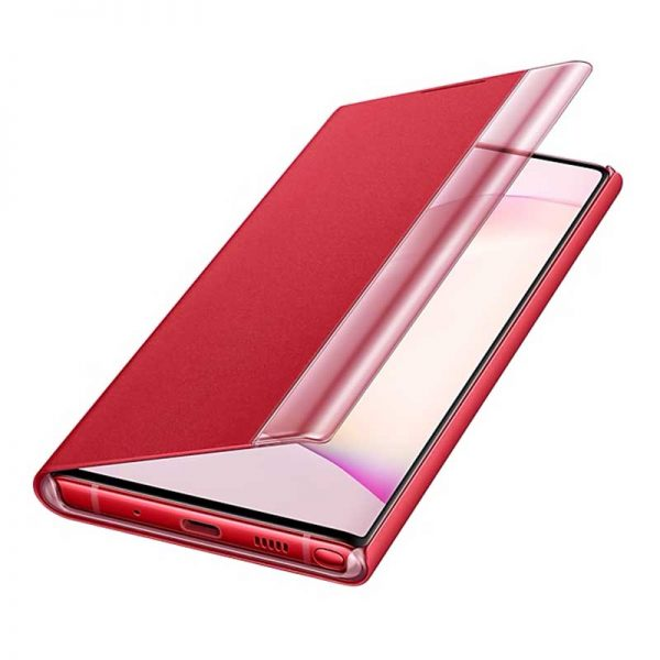 کیف هوشمند اصلی سامسونگ Samsung Note 10 Clear View Cover