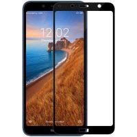 محافظ صفحه نمایش شیشه ای گلس شیائومی ردمی 7A تمام چسب و تمام صفحه Full Glass Screen Protector Xiaomi Redmi 7A