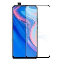 محافظ صفحه نمایش شیشه ای گلس هواوی Y9 Prime 2019 تمام چسب و تمام صفحه Full Glass Screen Protector Huawei Y9 Prime 2019