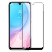 محافظ صفحه نمایش شیشه ای گلس شیائومی A3 / CC9e تمام چسب و تمام صفحه Full Glass Screen Protector Xiaomi Mi A3 / CC9e