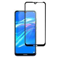 محافظ صفحه نمایش شیشه ای گلس هواوی Y7 Pro 2019 تمام چسب و تمام صفحه Full Glass Screen Protector Huawei Y7 Pro 2019