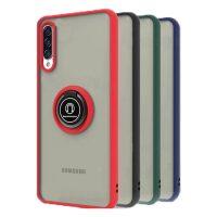 Samsung Galaxy A50 : A50s : A30s Matte Hybrid Ring Case