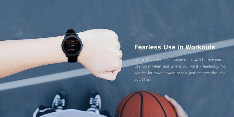 ساعت هوشمند هایلو شیائومی Xiaomi Haylou LS05 Solar Smartwatch