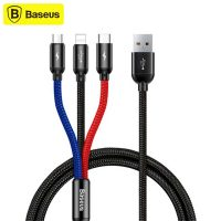 کابل شارژ سه سر بیسوس Baseus 3-in-1 Cable