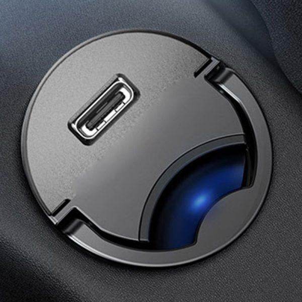 شارژر فندکی سریع تایپ سی بیسوس Baseus Tiny Star Mini PPS Car Charger
