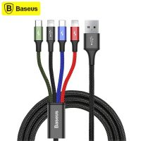 کابل شارژ چهار سر بیسوس Baseus Rapid Series CA1T4-A01 1.2m Cable