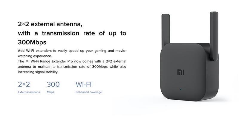 تقویت کننده آنتن وای فای شیائومی Xiaomi Mi Wi Fi Repeater Pro