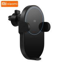 پایه نگهدارنده و شارژر وایرلس شیائومی Xiaomi Mi WCJ02ZM 20W Car Wireless Charger