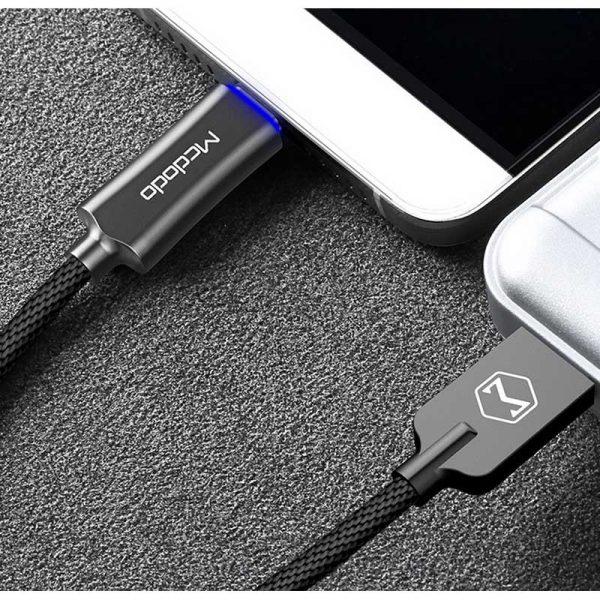 کابل تایپ سی هوشمند مک دودو Mcdodo CA-288 Auto Power Off Type-C Cable