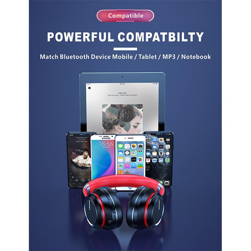 هدفون بلوتوث لنوو Lenovo HD200 Bluetooth Headphone