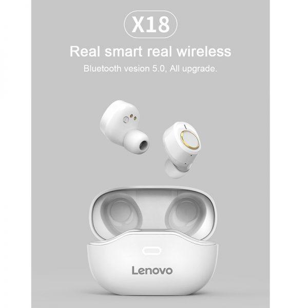 هندزفری بلوتوث لنوو Lenovo X18 True Wireless Earbuds Bluetooth
