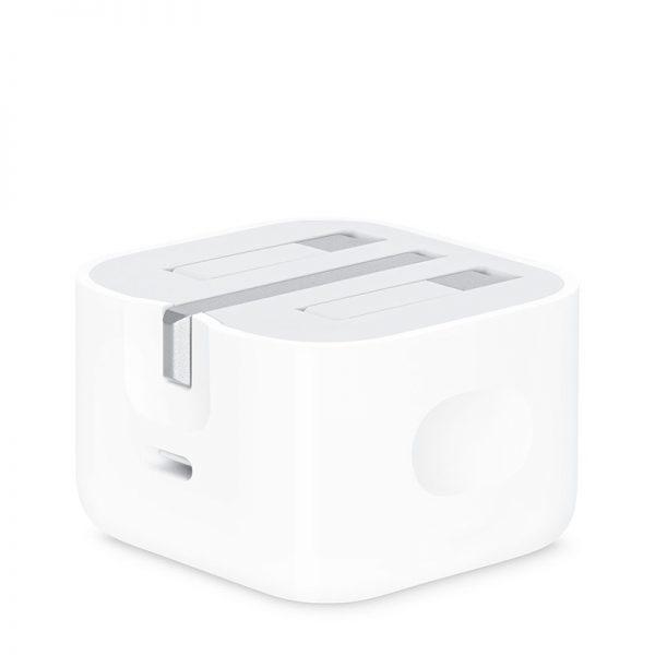 آداپتور شارژر اصلی اپل توان 20 وات Apple MHJF3ZP Charger 20W Type C