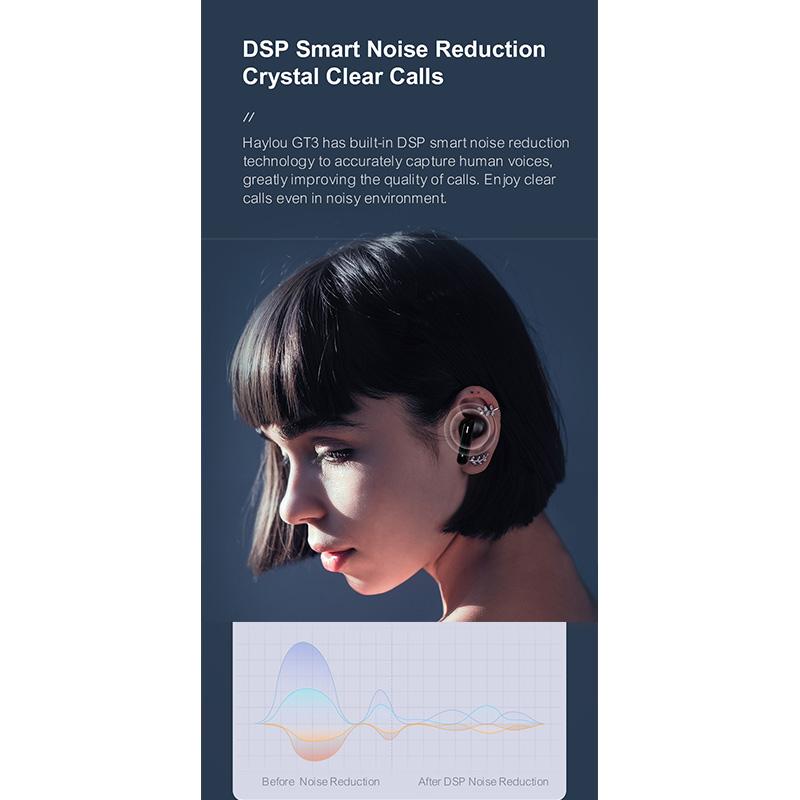 هندزفری بلوتوث شیائومی هایلو Xiaomi Haylou GT3 TWS Bluetooth Earphones