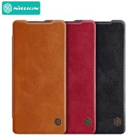 کیف چرمی نیلکین سامسونگ Nillkin Qin Leather Case Samsung Galaxy Note 20