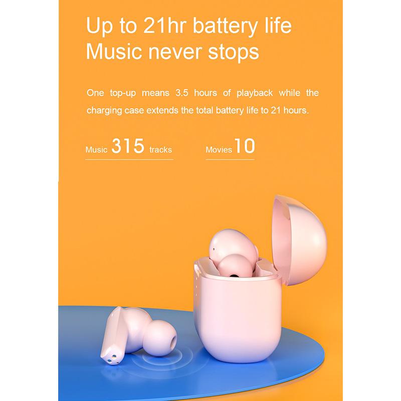 هندزفری بلوتوث کیو سی وای QCY T10 True Wireless Earphones