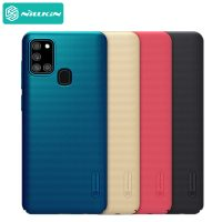قاب محافظ نیلکین سامسونگ Nillkin Super Frosted Shield Case Samsung Galaxy A21S