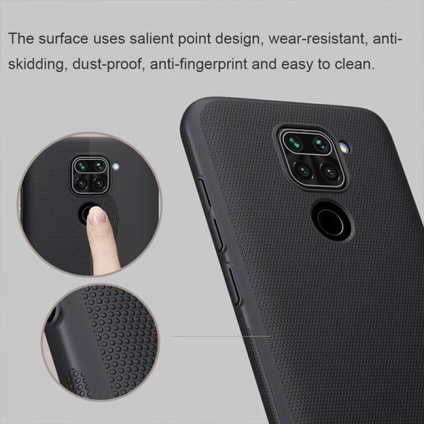 قاب محافظ نیلکین شیائومی Nillkin Super Frosted Shield Xiaomi Redmi Note 9 / Redmi 10X 4G