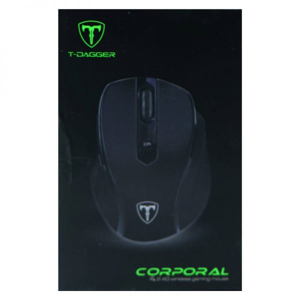 موس بی سیم گیمینگ T-DAGGER Corporal T-TGWM100 Wireless Gaming Mouse