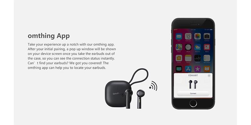 هندزفری بلوتوث اومتینگ وان مور شیائومی Xiaomi 1MORE Omthing Airfree Pods True Wireless Headphones EO005