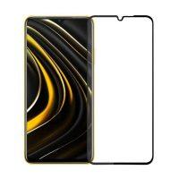 محافظ صفحه نمایش شیشه ای گلس شیائومی Full Glass Screen Protector Xiaomi poco M3