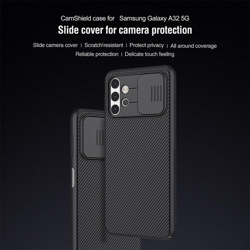 قاب محافظ نیلکین سامسونگ Samsung Galaxy A32 5G Nillkin CamShield Case