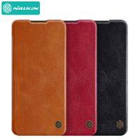 کیف چرمی نیلکین سامسونگ Samsung Galaxy A42 Nillkin Qin Leather Case