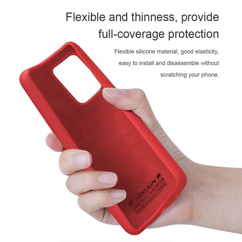قاب سیلیکونی نیلکین سامسونگ Nillkin Flex Pure Case Samsung Galaxy A52 5G