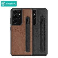 قاب نیلکین سامسونگ Nillkin Aoge Leather case Samsung Galaxy S21 Ultra