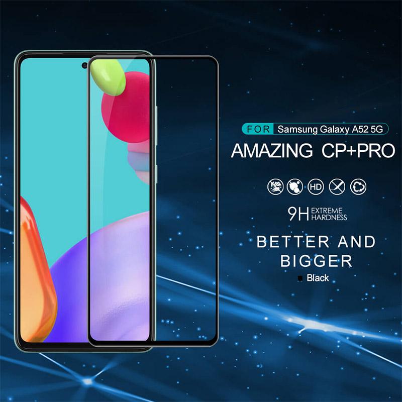 محافظ صفحه نمایش شیشه ای نیلکین سامسونگ Samsung Galaxy A52 Nillkin CP+ Pro