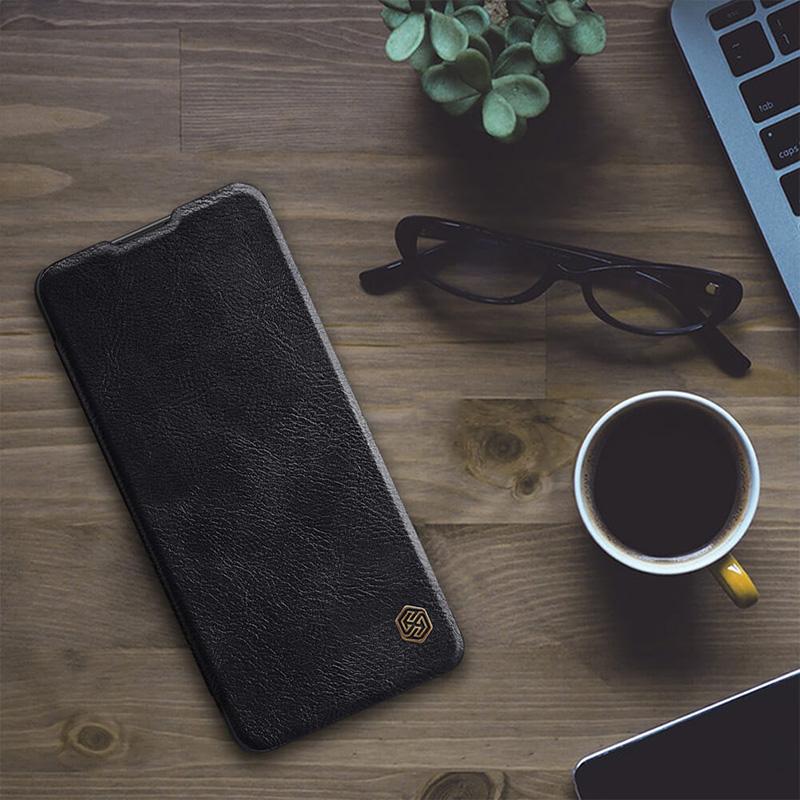 کیف چرمی نیلکین سامسونگ Samsung Galaxy M62 Nillkin Qin Leather Case