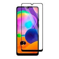 محافظ صفحه نمایش شیشه ای گلس سامسونگ A31 تمام چسب و تمام صفحه Full Glass Screen Protector Samsung Galaxy A31