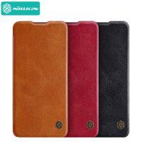 کیف چرمی نیلکین سامسونگ Samsung Galaxy A32 4G Nillkin Qin Leather Case