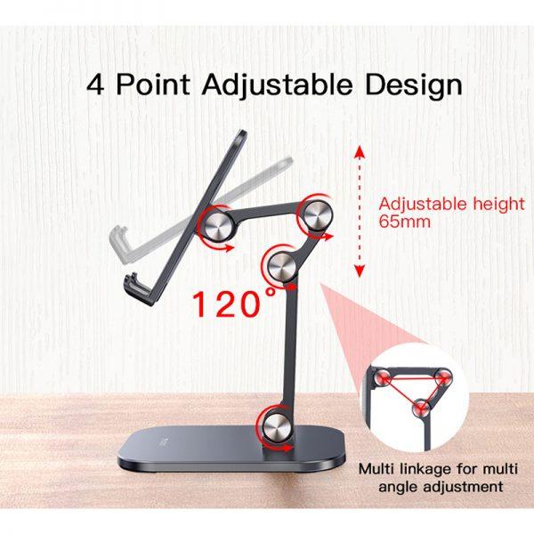 هولدر و پایه نگهدارنده رومیزی یسیدو Yesido C104 Folding Desktop Stand Holder