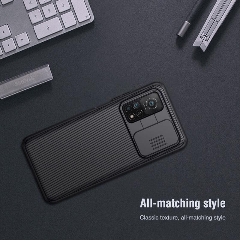 قاب محافظ نیلکین شیائومی Xiaomi Mi 10T / Mi 10T Pro Nillkin CamShield Case