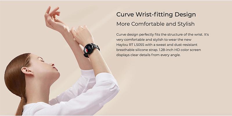 ساعت هوشمند هایلو شیائومی گلوبال Xiaomi Haylou RT LS05S Smart watch