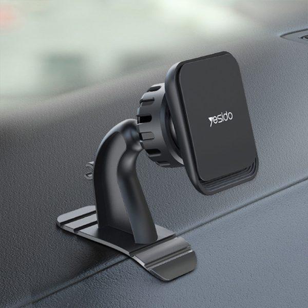 هولدر و پایه نگهدارنده یسیدو Yesido C110 Bendable Base Magnetic Car Holder