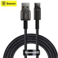 کابل Type C فست شارژ بیسوس Baseus Tungsten Gold USB to Type-C CATWJ-C01