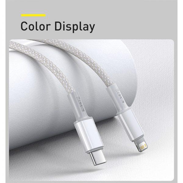 کابل لایتنینگ به Type C فست شارژ بیسوس Baseus Density CATLGD-A01