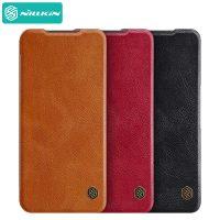 کیف چرمی نیلکین شیائومی Xiaomi Redmi Note 10 5G / Poco M3 Pro 5G Nillkin Qin Leather Case