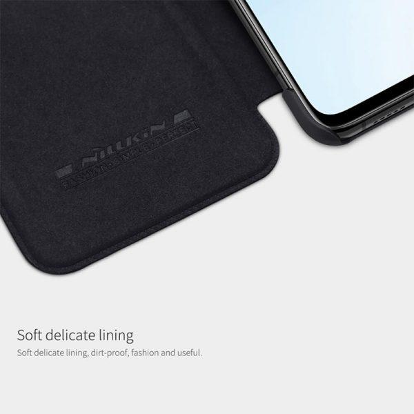 کیف چرمی نیلکین شیائومی Xiaomi Mi 10T / Mi 10T Pro Nillkin Qin Leather Case