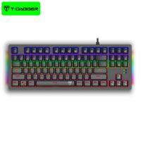 کیبورد سیمی گیمینگ T-Dagger Bail T-TGK311 Gaming Mechanical Keyboard RGB Backlighting