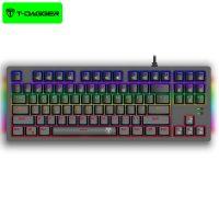 کیبورد سیمی گیمینگ تی دگر T-Dagger Bail T-TGK311 Gaming Mechanical Keyboard RGB Backlighting