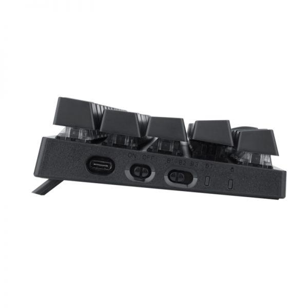 کیبورد بی سیم و سیمی گیمینگ T-Dagger Verde T-TGK317 Gaming Mechanical Keyboard