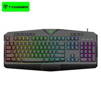 کیبورد سیمی گیمینگ T-Dagger Submarine T-TGK205 Gaming Keyboard