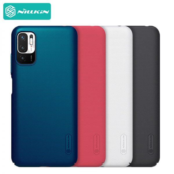قاب محافظ نیلکین شیائومی Nillkin Super Frosted Shield Xiaomi Redmi Note 10 5G , Poco M3 Pro 5G