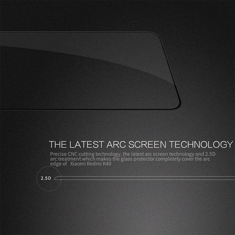 محافظ صفحه نمایش شیشه ای نیلکین Xiaomi Redmi K40, K40 Pro, K40 Pro Plus, Poco F3, Mi 11i, Mi11X, Mi 11 X Pro Nillkin CP+ Pro